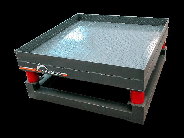 mesas vibratorias para hormigon