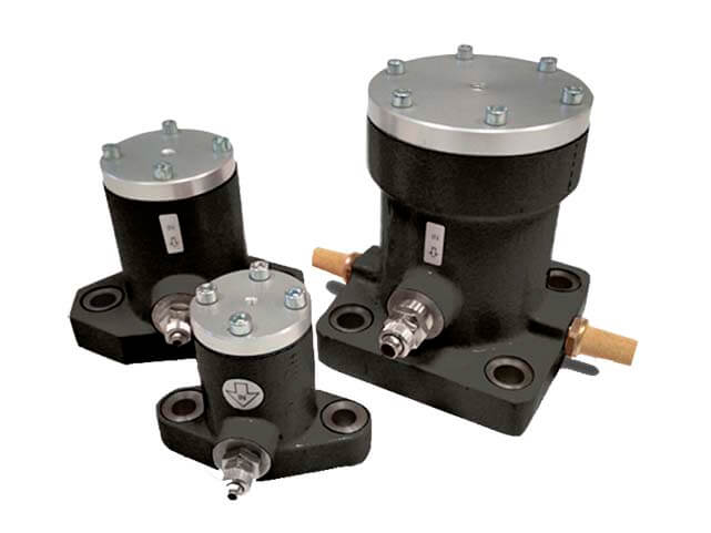 vibradores a pistón P producen una fuerza de impacto extremadamente elevada